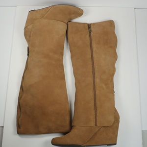 Jessica Simpson JS-Rallie Suede tall boots, Sz 8M